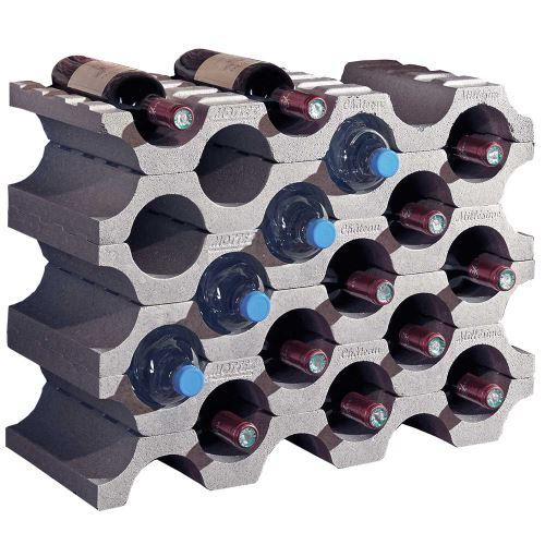 Stojan na víno / Stojan na láhve - polystyren - balení 6 ks