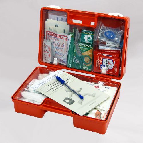 Kufr první pomoci KP 2 s náplní POPÁLENINY
