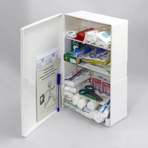 Plastová lékárnička malá s náplní POPÁLENINY