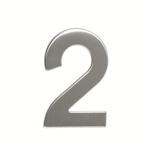 Domovní číslo nerezové - č. 2