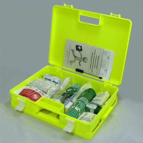 Kufr první pomoci FLUO 3 s náplní SKLAD - OBCHOD