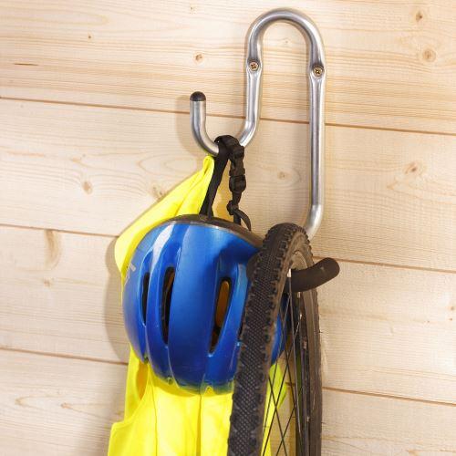 Nástěnný hák pro zavěšení jizdního kola