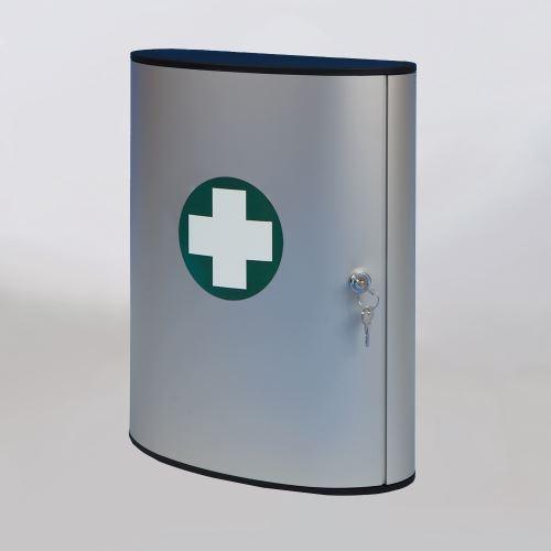 Lékárnička hliníková velká