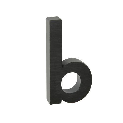 Domovní znak 3D AL antracit  - písmeno b