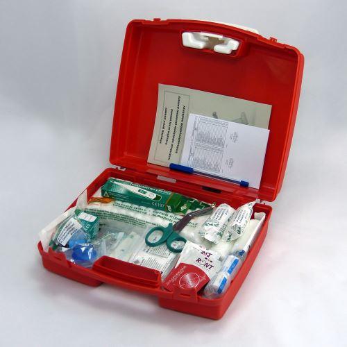 Plastový kufr malý PP s náplní KANCELÁŘ