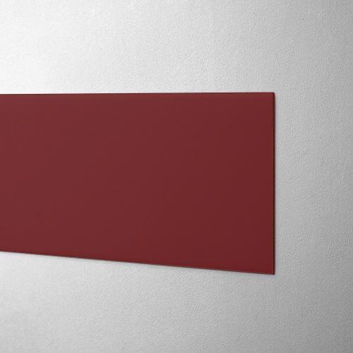 Plastový pás na ochranu stěn - TMAVĚ ČERVENÝ - standard - délka 3 m
