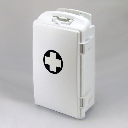 Přenosná lékárnička bílá s náplní ŠKOLA