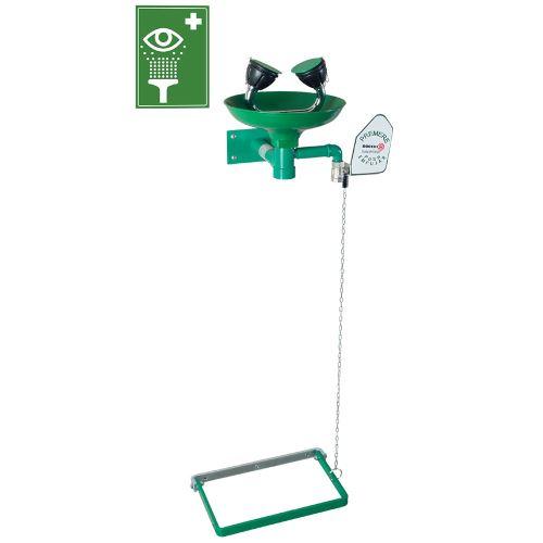 Oční bezpečnostní sprcha 2S - nástěnná polypropylenová