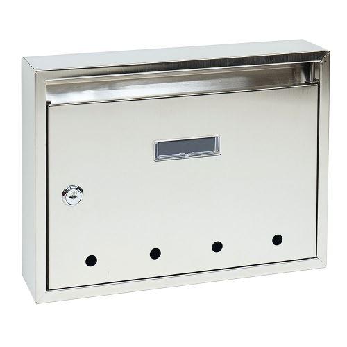 Poštovní schránka do sestav STANDARD - malá NEREZ