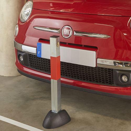 Parkovací zábrana - Zahrazovací sklopný sloupek