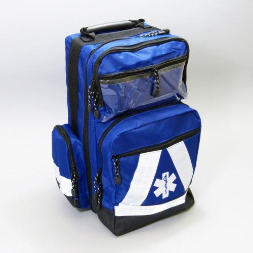 Zdravotnický záchranářský batoh MODRÝ s náplní SPORT