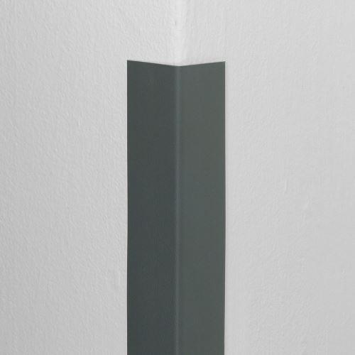Plastová ochrana rohu DELUX - TMAVĚ ŠEDÁ - 50 x 50 mm x 1,5 m - standard