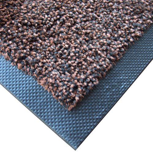 Textilní rohož zátěžová MAGIC 75 x 85 cm - HNĚDÁ