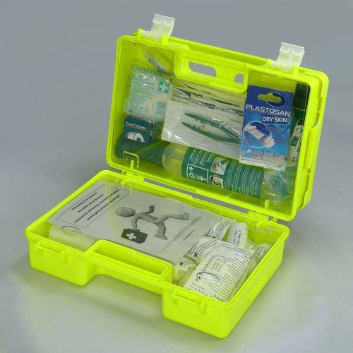 Kufřík první pomoci FLUO 2 s náplní SKLAD - OBCHOD