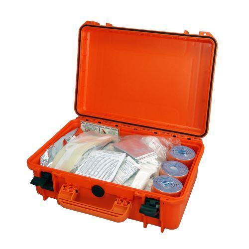 Záchranářský kufr IP67 střední s náplní pro zásahová vozidla III