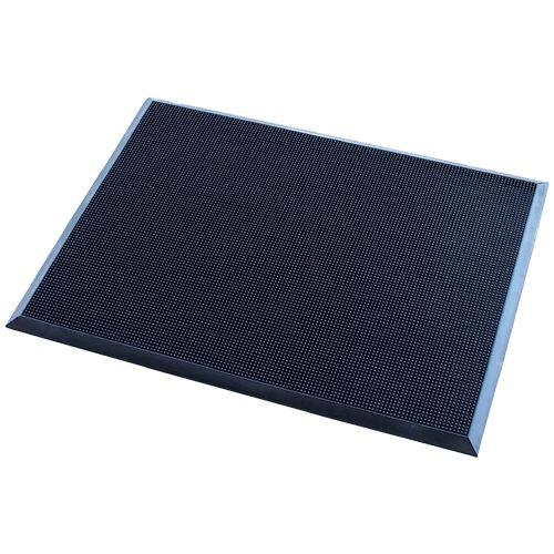 Vstupní rohož s kartáčovacím efektem 60 x 80 cm