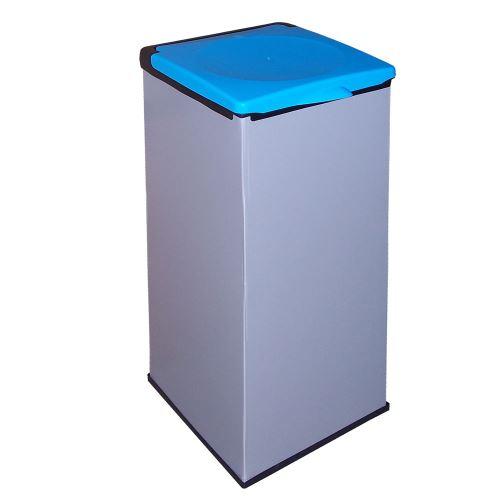 Koš na odpadkové pytle  MONTI - víko MODRÉ