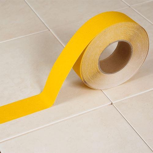 Protiskluzová páska korundová ŽLUTÁ 5 cm x 18 m