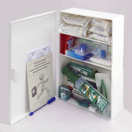 Plastová lékárnička malá s náplní SKLAD - OBCHOD