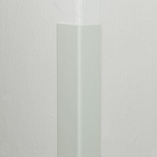 Plastová ochrana rohu DELUX - BÍLÁ - 50 x 50 mm x 1,5 m - standard