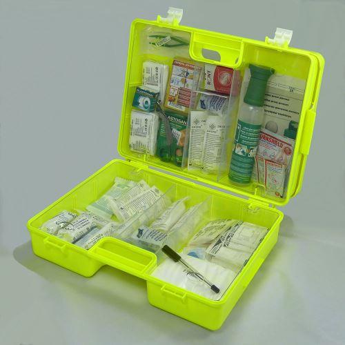 Kufr první pomoci FLUO 4 s náplní VÝROBA