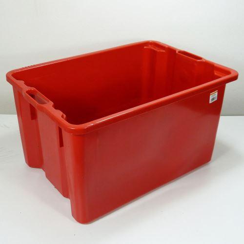 Plastová přepravka 65l  - PLNÁ