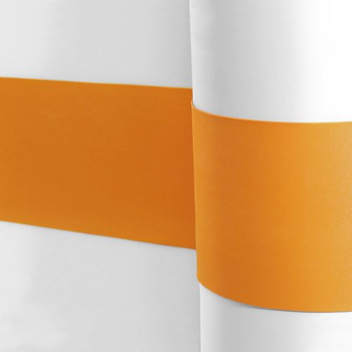 Elastický pás na ochranu stěn - ORANŽOVÝ - délka 25 m