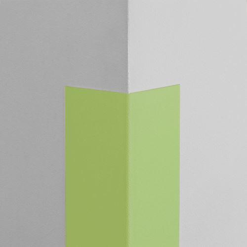 Plastová ochrana rohu LUX - LIMETKA - samolepící - délka 1,5 m