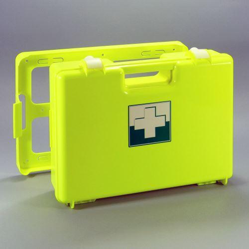 Kufr první pomoci FLUO 3 s náplní VÝROBA