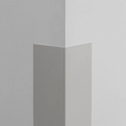 Plastová ochrana rohu LUX - SVĚTLE ŠEDÁ - samolepící - délka 1,5 m