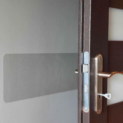 Samolepící ochrana zdi 300 mm x 1,5 m - PRŮHLEDNÁ