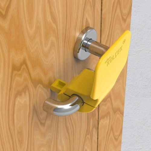 Nástavec na kliku pro otevírání pomocí předloktí