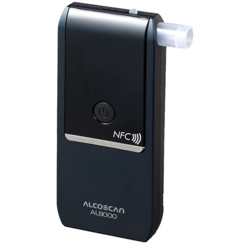 Detektor alkoholu AL 8000 NFC + 50 ks náustků