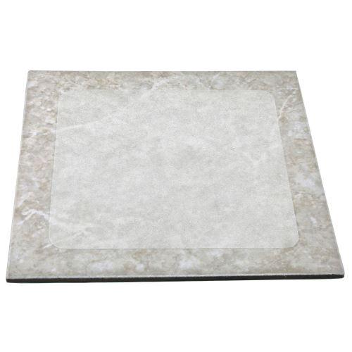Protiskluzová dlaždice korundová PRŮHLEDNÁ 240 x 240 mm