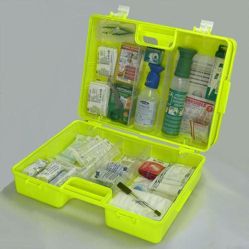 Kufr první pomoci FLUO 4 s náplní CHEMICKÝ PROVOZ