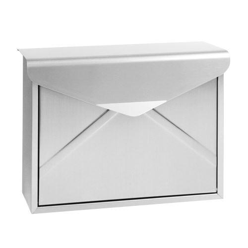 Nerezová poštovní schránka se zvýšenou odolností proti dešti