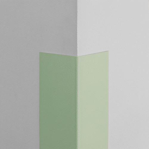 Plastová ochrana rohu LUX - SVĚTLE ZELENÁ - samolepící - délka 1 m