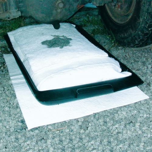 Úkapová vana do venkovních prostorů včetně sorpčního polštáře