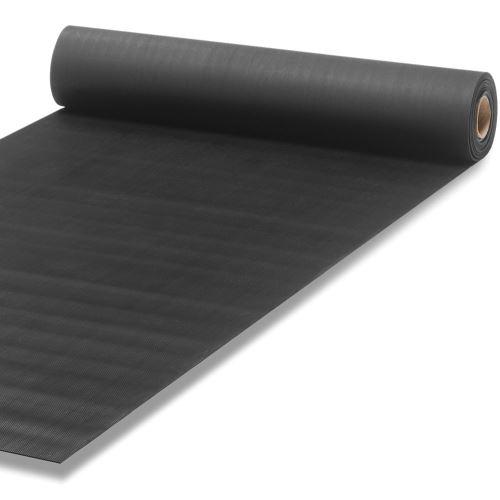 Průmyslová rohož s drážkovaným povrchem 1 x 10 m