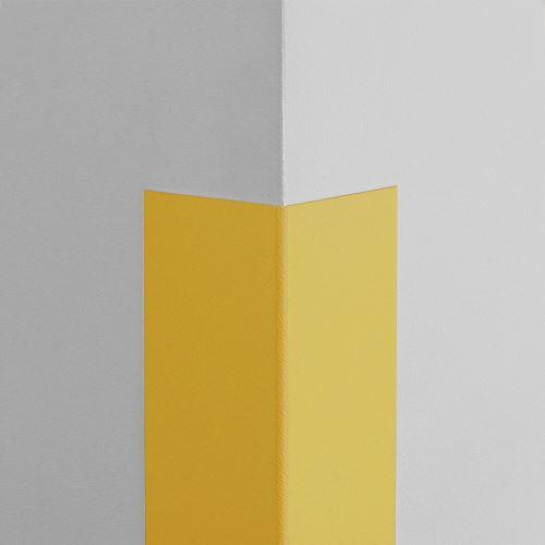 Plastová ochrana rohu LUX - ŽLUTÁ - samolepící - délka 1,5 m