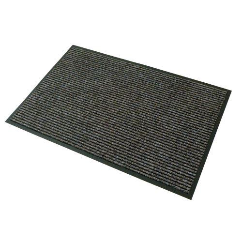 Vstupní textilní rohož hnědá 80 x 120 cm