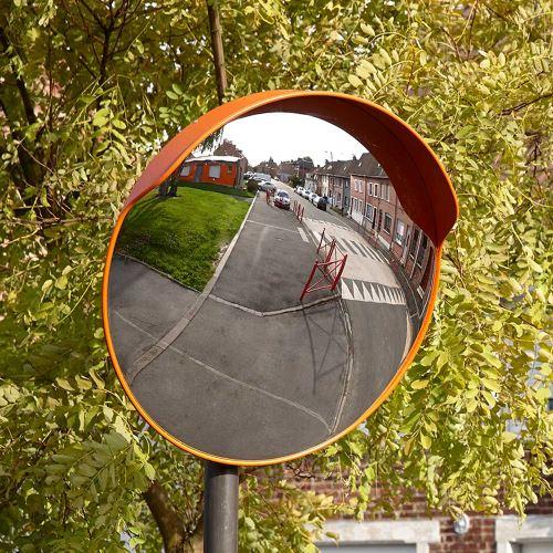 Dopravní vypouklé zrcadlo 60 cm