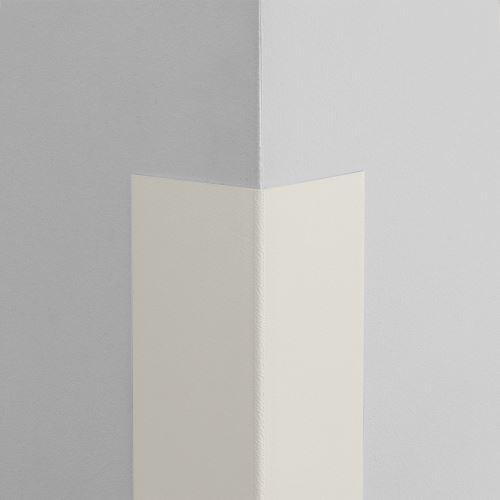 Plastová ochrana rohu LUX - BÍLÁ - samolepící - délka 1 m