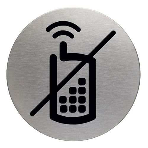Piktogram - zákaz telefonování