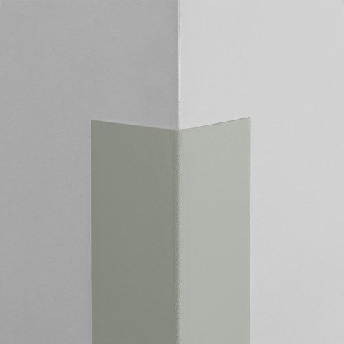 Plastová ochrana rohu LUX - ŠEDÁ - samolepící - délka 1 m