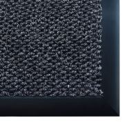 Zátěžová rohož PERLA 120 x 400 cm - ANTRACIT