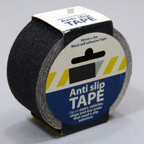 Protiskluzová samolepící páska - ČERNÁ 5 cm x 3 m