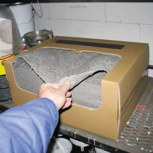 Univerzální sorpční rohože 40 x 50 cm v kartonu - BALENÍ 50 ks