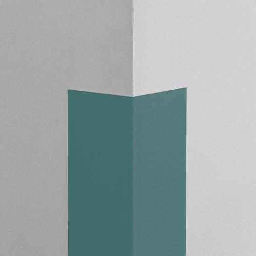 Plastová ochrana rohu LUX - MODROŠEDÁ - samolepící - délka 1 m