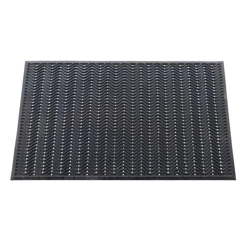 Vstupní gumová rohož WAVE s otvory 150 x 90 cm